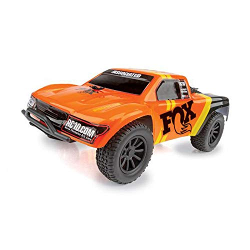 - Team Associated 20157 SC28 Fox Factory Edition Micro Short Course Truck Ready to Run Kit, 1/28 Scale, 2WD
