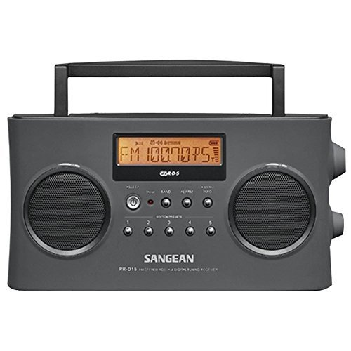 SANGEAN FM-Stereo RDS (RBDS) / AM Digital Tuning Portable Receiver / PR-D15 /