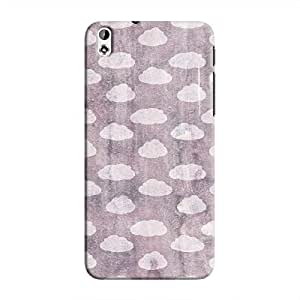 Cover It Up - Clouds Violet Sky Desire 816 Hard Case