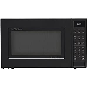 Sharp SMC1585BB 1.5 cu. ft. Microwave Oven with Convection Cooking Auto Defrost Popcorn and beverage settings and 10 Cooking Power Levels in