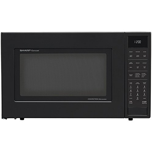 Sharp SMC1585BB 1.5 Cu. Ft. 900W Convection Microwave Oven