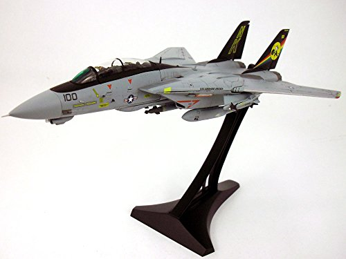 JC Wings 1:72 F-14D F-14 Tomcat VF-31 Tomcatters, CVW14 USS Abraham Lincoln (CVN-72), 1998 with Display Stand