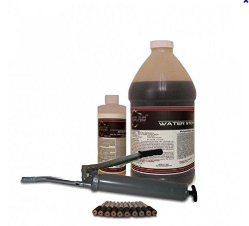 (10 FT Armor HPI Hydrophobic Polyurethane Injection Kit for Wet Concrete Cracks)