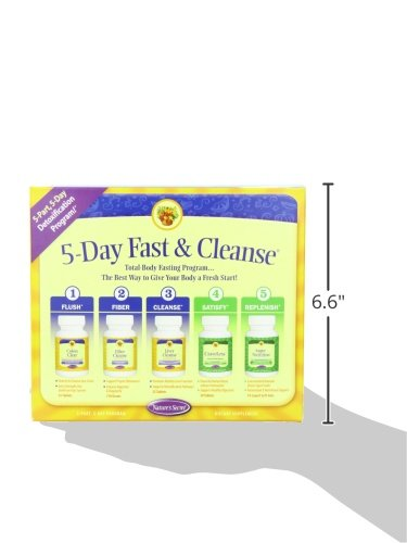 Amazon Com Natures Secret 5 Day Fast And Cleanse Kit Health Personal Care