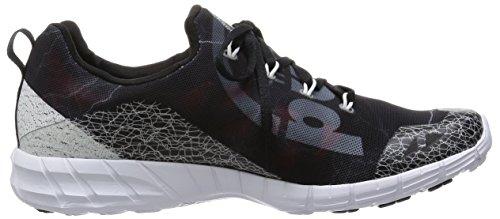 Reebok Zapatillas de Running de Lona Para Hombre Negro Negro