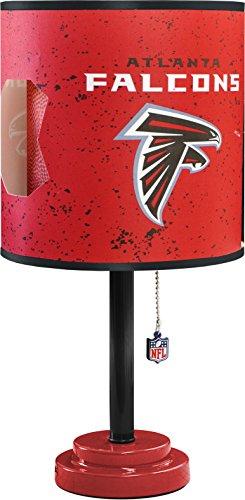 NFL Atlanta Falcons Table Lamp with Die Cut Lamp Shade