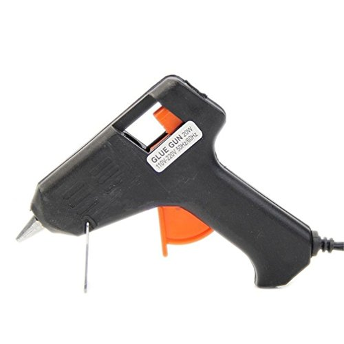 Vipe Electric Heating Hot Melt Glue Gun Sticks Trigger Repair Tool for Arts Craft US Plug
