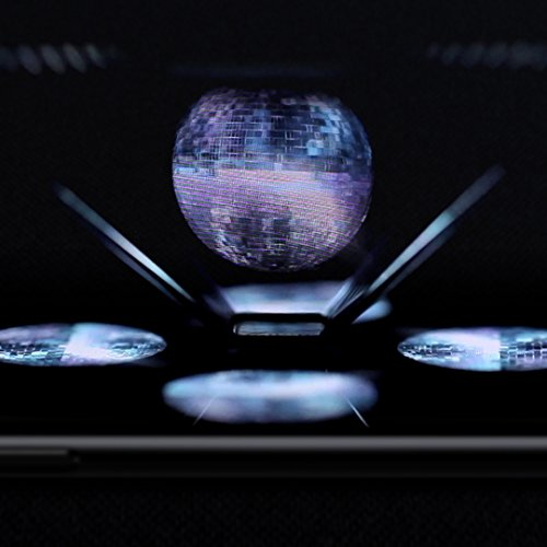 Hologram Pyramid – 3D Hologram Display Kit – Holographic Viewer Projector,  Works with Any Smartphone – Downloadable App