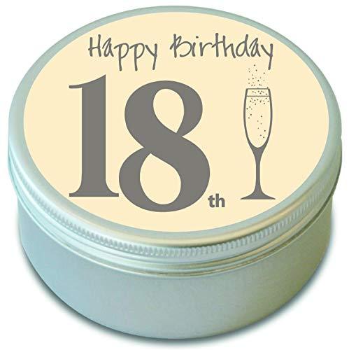 18th cumpleaños - Happy 18th cumpleaños - Vela aromática ...