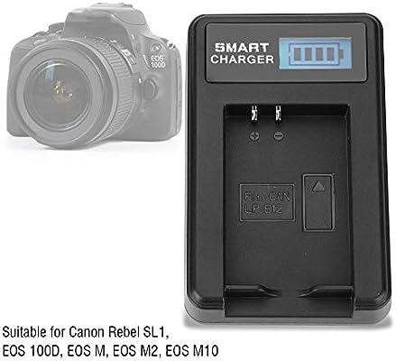 Amazon.com: Serounder LP-E12 - Cargador de batería para ...