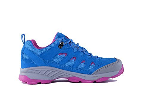 36 Waterproof amp; Wanderschuhe Schuhe TFO Anti Bergschuhe Trekkingschuhe EU Sohle mit Damen amp; Blau Outdoor Mid Atmungsaktive Rutsch 8qwBEwax