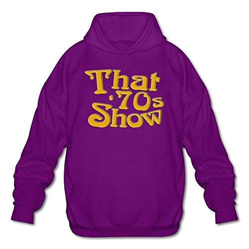 Sweater 1970s Mens (Men's Long Sleeve Cotton Hoodie That Is 70s Show.png SweatshirtPurple)
