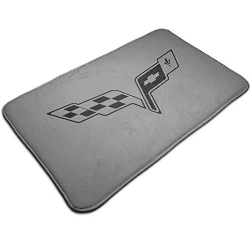 KLA2000 Chevrolet Sportscar and Corvette Carpets Home Door Mats Anti Slip Entrance Rugs Doormats,19.5X31.5 Inch /50X80cm -