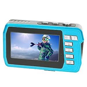 Appareil Photo Etanche Caméras 2.7K 48MP Appareil Photo Etanche Double Ecran Appareil Photo étanche à Zoom Numérique 16X…