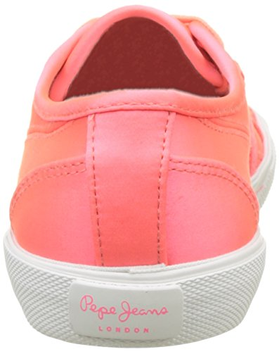 Jeans Satin Sneakers Aberlady Rose Basses Pepe hot Femme Pink 4OBSxRxw