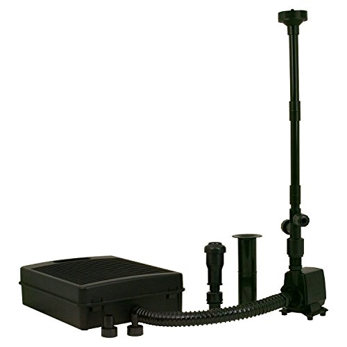 TetraPond Filtration Fountain Kit, Includes 3 Fountain Attachments Coarse Poly Filter Pad