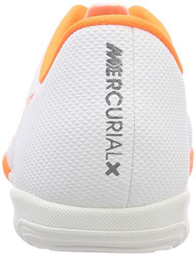 Bianco Ic Mercurialx chrome Vapor Nike white Junior total 107 O Calcio – Bambini Unisex Scarpe Xii Da Academy HxfRInR