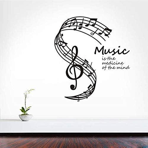 Tianpengyuanshuai La música es la Medicina del corazón Pegatina de ...