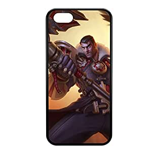 Jayce-001 League of Legends LoL case cover for iPhone 5C - Rubber Black