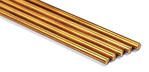 Brass Handle Pin - Five Pack of 1/4