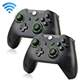 EEEKit 2-Pack Wireless Pro Gaming Controller Gamepad Joypad Remote for Nintendo Switch Console