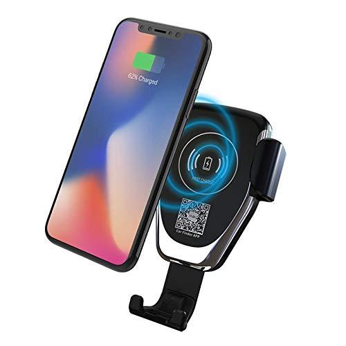 Amazon com: EB Wireless Charger Car Mount Adjustable Gravity