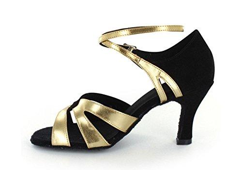 Minitoo - salón mujer Dorado - negro/dorado