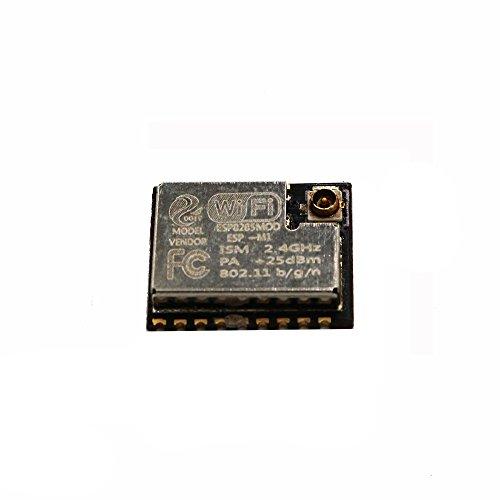Sunhokey 2pcs ESP-M1 ESP8285 ESP8266 1M Flash Chip Wifi Wireless Module Serial Port Ultra Transmission With External Antenna Interface FZ2735 by Sunhokey (Image #4)
