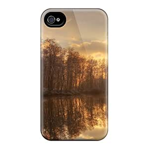 HeKRo Case Cover For Iphone 4/4s Ultra Slim QTu-871-Ypn Case Cover