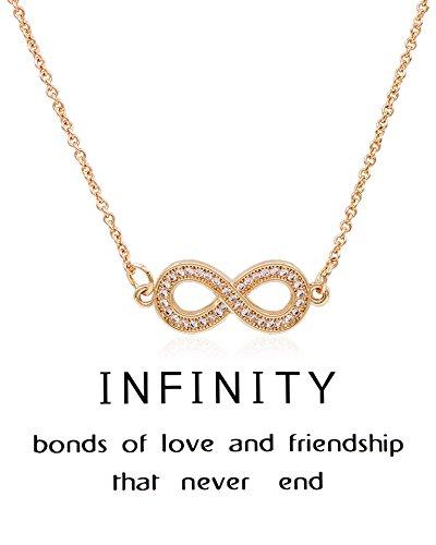 Shoopic Crystal Infinity Pendant