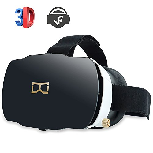 Vliti™ 3D VR Virtual Reality Headset 3D Glasses Video Movie Game Box for iPhone Android within 4.0-5.8 Inches For Sale