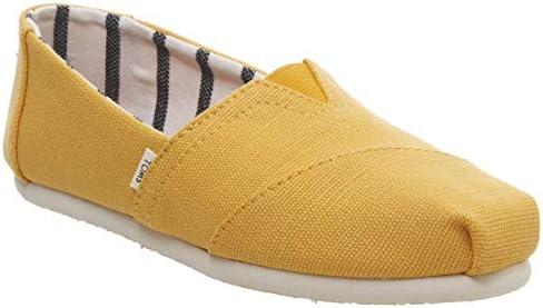 74f4013660f32 Toms Grey Canvas Cupsole Womens Shoes 8 B(M) US Women Yellow: Amazon.com