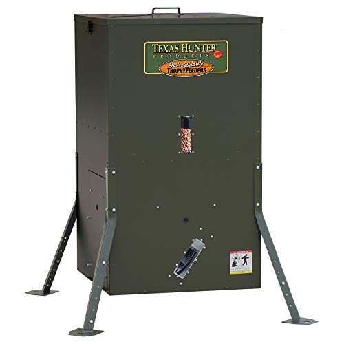Texas Hunter Directional Fish Feeder w/Adjustable Legs - 175 lb. Fish Feed Capacity - Model DF300AL ()