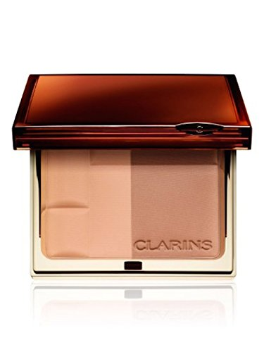 Clarins Bronzing Duo Mineral Powder Compact - 10 grams (Light)