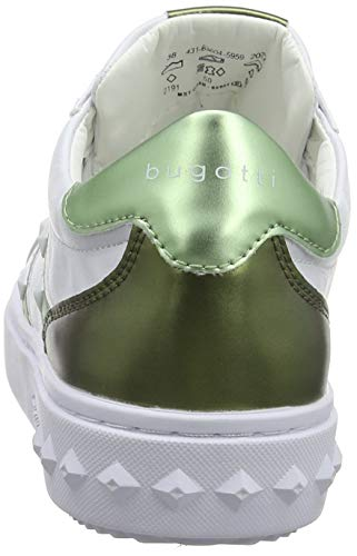Green Zapatillas 431636045959 Multicolor Mujer white Light 2072 Para Bugatti RS05PqzwP