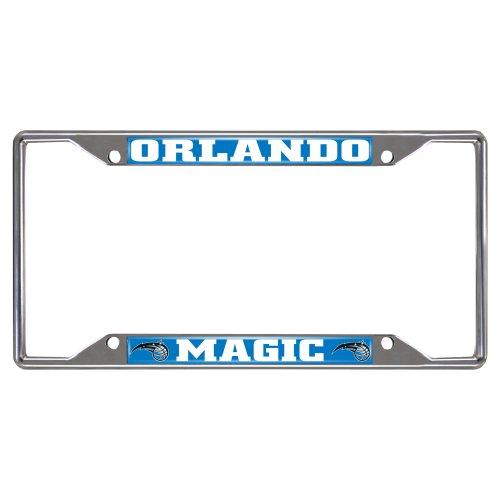 FANMATS NBA Orlando Magic Chrome License Plate - Magic Plate