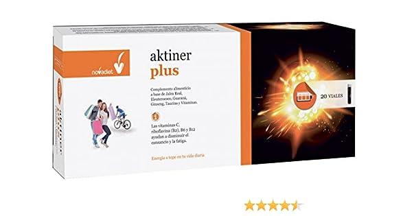Aktiner Plus 20 viales de Nova Diet: Amazon.es: Salud y cuidado ...