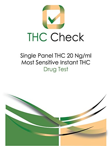 THC Check: Instant 20 Ng/ml Ultra-Sensitive Marijuana Test: