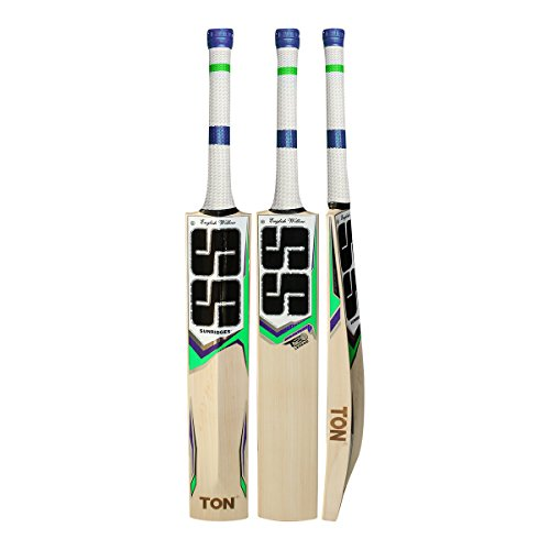 SS TON T20 LEGEND English Willow Cricket Bat - 2018 Edition (Free Extra GM Matrix Grip , SS Anti Scuff Sheet & SS Bat Cover Included) by SS