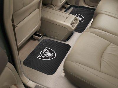 NFL - Oakland Raiders Backseat Utility Mats 2 Pack