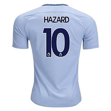 Amazon.com: Hazard # 10 Chelsea 17/18 Away playera de fútbol ...