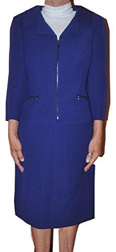 Tahari Women's Purple Karma 2 Piece Suit Set Size 6