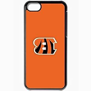 Personalized iPhone 5C Cell phone Case/Cover Skin Nfl Cincinnati Bengals 6 Sport Black