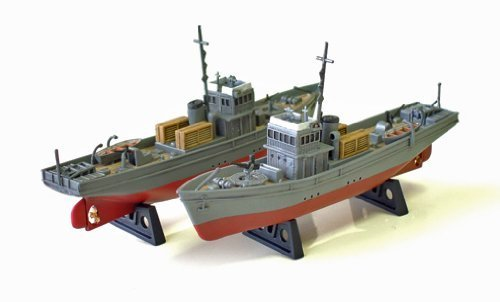 No. 1 type secret military boat latent drive 1/350 Japanese Navy (two vessels case) (japan import) by Shields Models