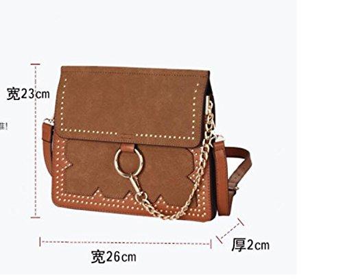 Épaule Givré Simple Style Bandoulière L'Été De Sac D'Enveloppe Rivet Paquet Sac Meaeo Unique Nouveau EqSpwWvn