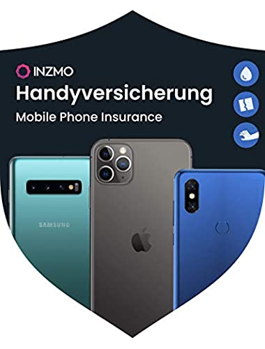 INZMO Mobile Phone Insurance for Apple iPhone smartphone Years Accidental Damage Theft Protection  Device purchase price from 1001 1500