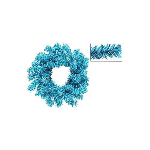 """UPC 093422200783, 24"""" Sky Blue Fir Artificial Christmas Wreath - Unlit"""