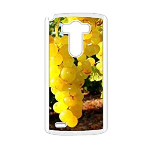 Fresh yellow grapes nature style fashion phone case for LG G3