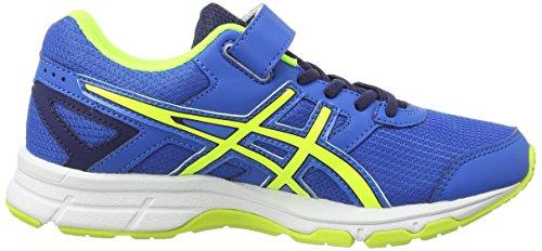 ASICS Pre Galaxy 8 PS - Zapatillas de deporte unisex para niños Azul (Electric Blue/Flash Yellow/Ind 3907)