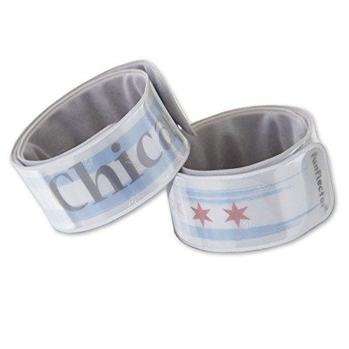 funflector Reflective Slap Bracelet - Chicago - 2-Pack for $<!--$14.99-->